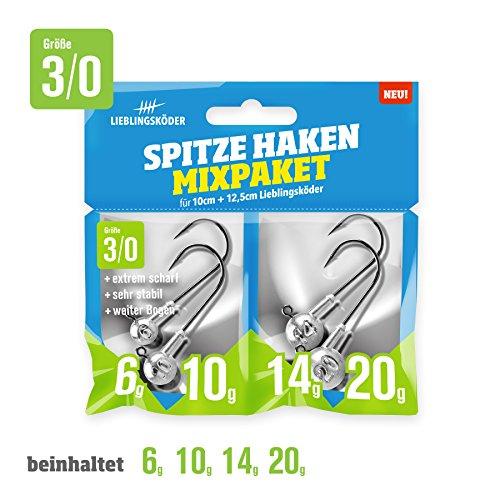 Spitze Haken Mix-Pakete (3/0) -