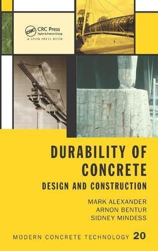 Durability of Concrete: Design and Construction (Modern Concrete Technology)