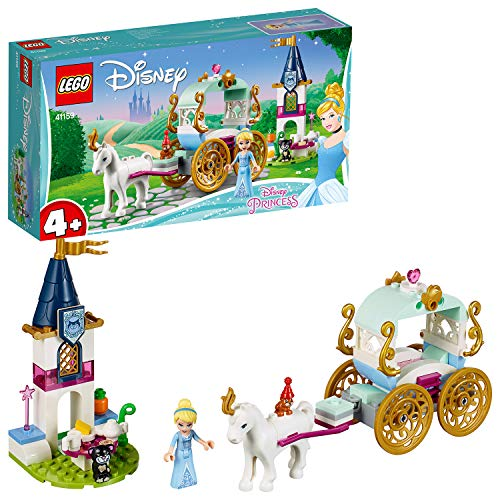 LEGO 41159 Cindarella's Kutsche Kinderspielzeug, -