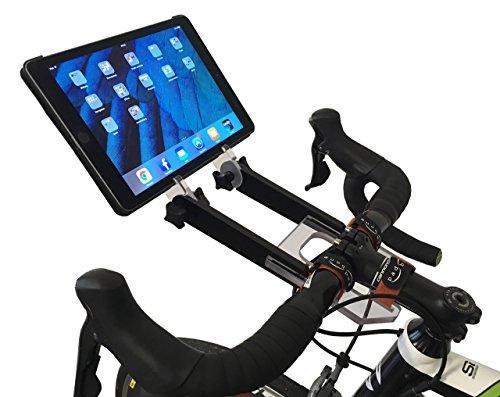Preisvergleich Produktbild PADBONE Tablethalterung fürs Rollentraining Fahrrad Rennrad Mountainbike Triathlon Zeitfahrrad Rad Intervalltraining Indoorcycling