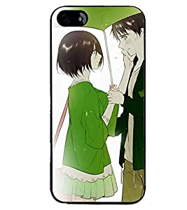 Printvisa Romantic Couple On A Rainy Day Back Case Cover for Apple iPhone 4