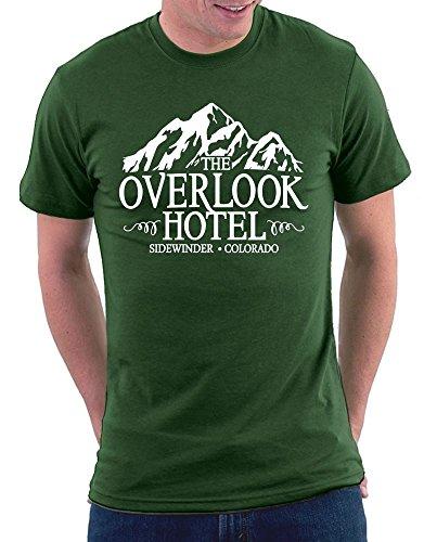 Shining Overlook Hotel T-shirt Bottlegreen