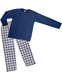 HERREN PYJAMA,Schlafanzug,100% BAUMWOLLE
