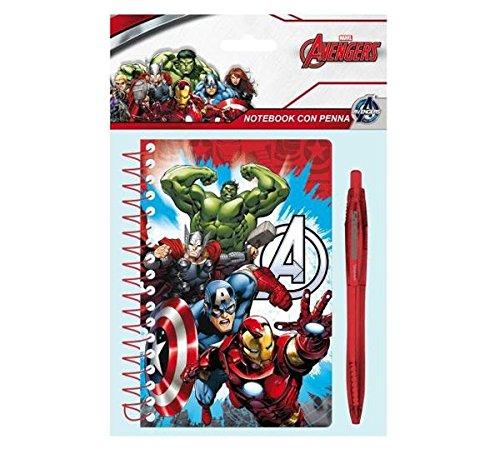 Marvel Avengers - Block Notes con Penna