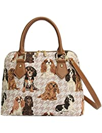 Cavalier Shoulder Bag by Signare | Ladies Evening Stylish Side Handbag | 36x23x12.5 cm | (CONV-KGCS)