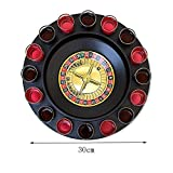 from UINIAI 16 glasses of beer cup Drinking Roulette,Game turntable