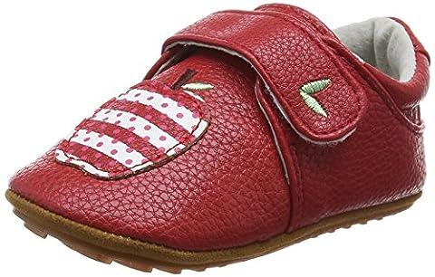 Rose & Chocolat Apple Red, Baskets premiers pas bébé fille - Rouge - Rouge, 23 EU