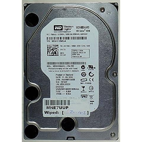 640GB HDD WD Caviar SE16wd6400aaks SATA