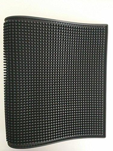SMKF groß (BSM) 45,7x 30,5cm Gummi Bar Service Matte, Gummi, schwarz, 18