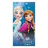 La Reine des Neiges - Serviette de plage - Drap de bain - Frozen Disney Elsa Anna