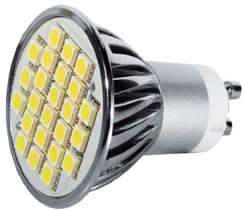 Transmedia LP8-5WL Power SMD Spot LED 230 V 5 W GU10 Blanc Chaud