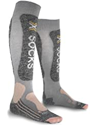 Sidas Skiing Light Lady - Calcetines, color negro, talla 39/42
