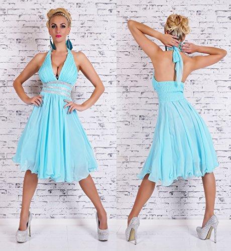 Fashion - Robe - Femme Bleu - Aqua
