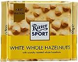 Ritter Sport White Chocolate 100g - Whole Hazelnuts