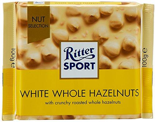 12% Kakaobutter (Ritter Sport - Weisse Voll-Nuss - 100g)