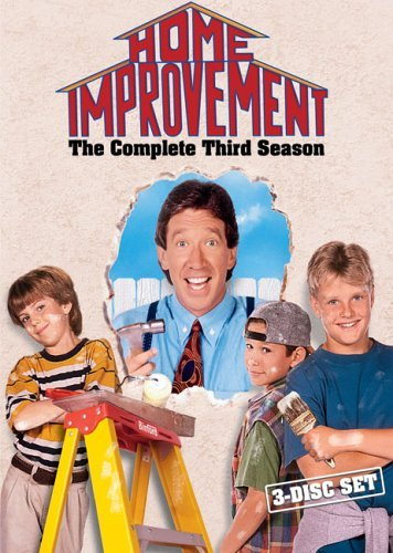 Home Improvement: Season 3 by Tim Allen (Dvd Home Improvement)