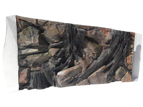 Aquarium Rückwand 3d Wurzel 100x60cm bei Robizoo