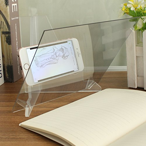 TuToy Drawing Board Pad Table Sketch Drawing Linfen Board Reflection Of Mirrors (Tattoo-tracing-board)