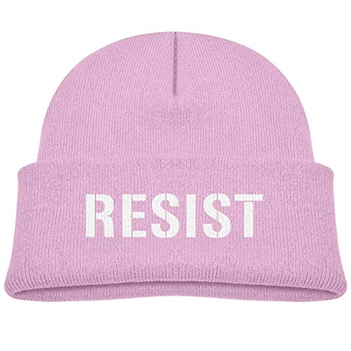 21a20775214 NGDUTZ Fashion Funny Resist Anti Trump Kid Knitted Beanies Hat Boys Girls  Winter Hat Knitted Skull