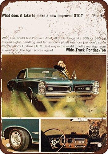 1966-pontiac-gto-reproduccion-de-aspecto-vintage-metal-signs-12-x-16-pulgadas