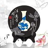carbono talla artes de la resina, regalo decorativo florero patrón de la decoración del hogar , B