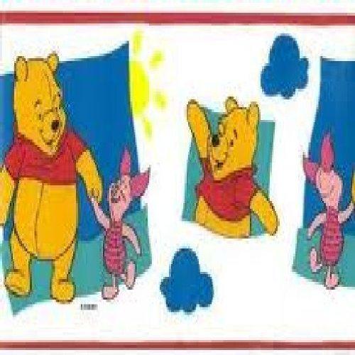 Winnie the Pooh frontera papel