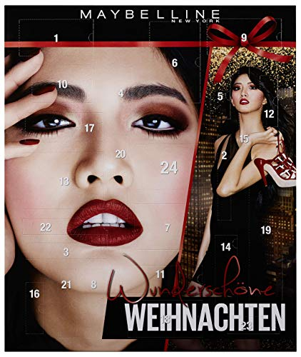 Maybelline New York Adventskalender 2018