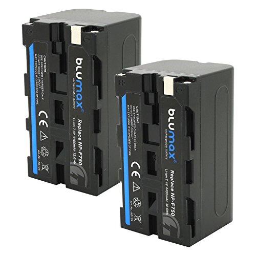 Blumax 2X Akku für Sony NP-F750 / F550 / F970 / F960-4400mAh