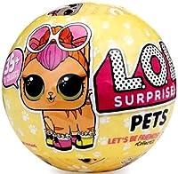 LOL Sorpresa! Pets Serie 3 Sfera con Mini Doll a Sorpresa. Scopri 7 livelli di sorpresa in ogni LOL Surprise! Sfera 35+ da collezionare nella serie 3! Una sfera fornita.