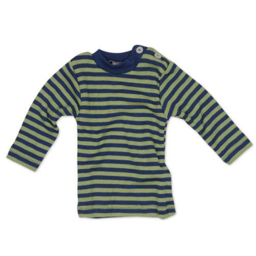 Engel Naturtextilien Baby Shirt Merinoschurwolle / Seide 725110-163 kirschrot orange Gr. 110/116