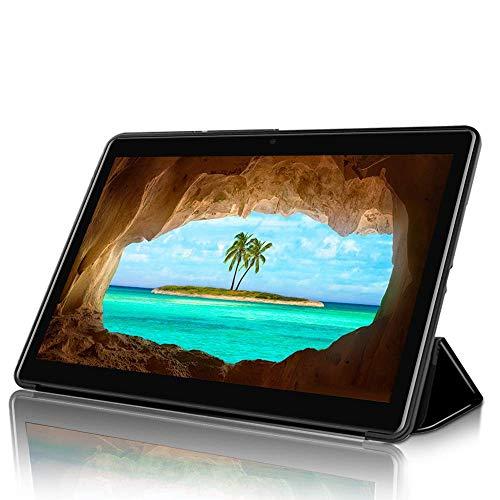 tablet otg 4G Tablet 10.1 Pollici con Wifi Offerte DUODUOGO Tablet PC Offerte Android 7.0 con Slot per Scheda SIM Doppio OTG 8500mAh Memoria RAM da 2GB+32GB 8MP Camera Quad Core Tablet Sbloccato Bluetooth