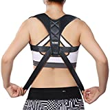 Posture Corrector Spinal Support -Liveup SPORTS Physical Therapy Posture Brace for Men or Women - Back and Shoulder Pain Relief - Spinal Cord Posture Support Bandag
