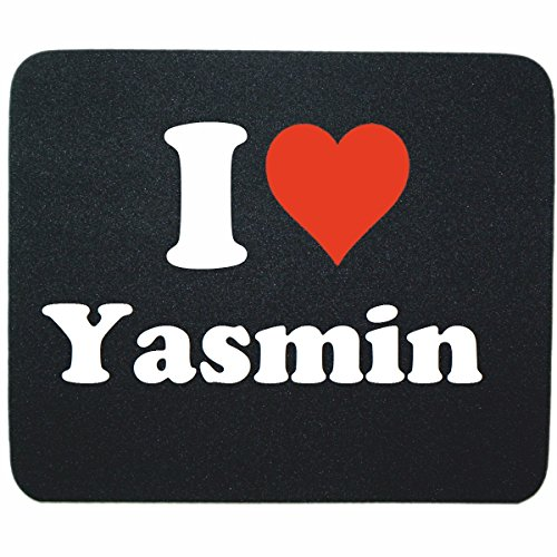 exclusive-gift-idea-mouse-pad-i-love-yasmin-in-black-a-great-gift-that-comes-from-the-heart-non-slip