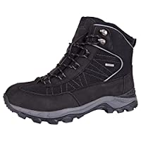 Mountain Warehouse Boulder Mens Winter Trekker Boots - Breathable, Waterproof, Quick Drying, Durable Rubber Outsole Walking Boots - Perfect for Cold Winter Weather