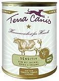 Terra Canis | Rind mit Zucchini, Kürbis und Oregano, getreidefrei | 6 x 800 g