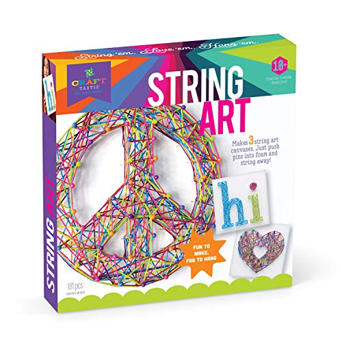 Craft tastic cte40String Art Kit