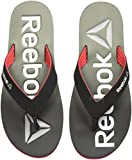 Reebok Men's Embossed Flip Coal/Green/Red/Silver/Wht Flip-Flops and House Slippers - 8 UK/India (42 EU) (9 US)