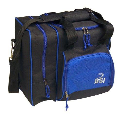 BSI Deluxe Single Ball Tasche, schwarz/blau