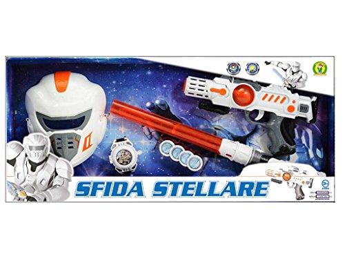sfida stellare set combat - mazzeo giocattoli