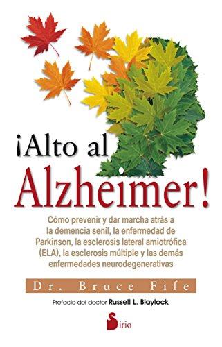 Descargar Libro ALTO AL ALZHEIMER! de DR.BRUCE FIFE