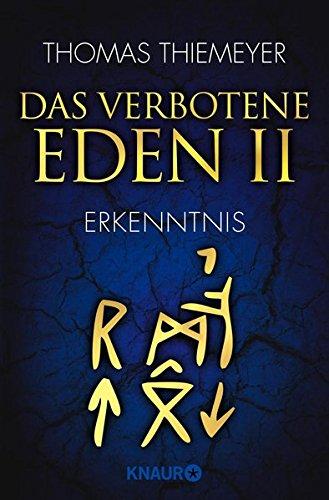 Das verbotene Eden 2: Erkenntnis (Die Eden-Trilogie, gebraucht kaufen  Wird an jeden Ort in Deutschland