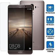 Huawei Mate 9 (5.9 Zoll) Schutzfolie, AVIDET Gehärtetem Glas Displayschutzfolie Screen Protector für Huawei Mate 9 - 9H Hardness aus gehärtetem Glas