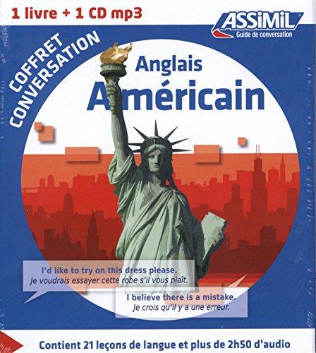 Coffret conversation anglais Américain (Guide+CD)