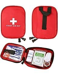 CHIC-CHIC-Kit de Premier Secours 31 Pcs - Sac de Survie D'urgence, Designer pour la Voiture, la Maison, Camping, Chasse, Voyage, Plein air ou Sports, Petit et Compact