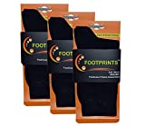 #3: FootPrints Organic Cotton and Bamboo Men's Formal Socks Pack of 3- Black