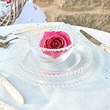 Glass Bella Perle Luxury Side / Dessert Plate (Set of 6 Dessert Plates)