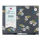 Home Planner 2018 di Boxclever Press. Calendario mensile. Inizia ora e fino a Dicembre '18. IN INGLESE.