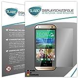 Slabo 2 x Displayfolie für HTC One mini 2 Displayschutzfolie Zubehör No Reflexion MATT
