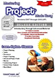 Image de Mastering Project Made Easy Training Tutorial v. 2007 through 2002 - How to use Microsoft Project Video e Book Manual Guide. Even dummies can learn ..
