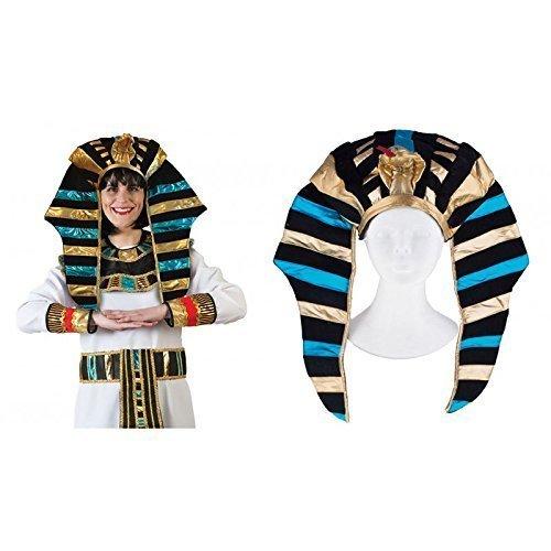 Pharaokopfschmuck / Ägyptische Kopfbedeckung / Hut / Fasching / Karneval / Ägypter Kostüm (Kostüm Kopfbedeckung Ägyptische Zubehör)